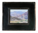 Arts & Crafts 4 inch Flat Panel with carve all black 8x10